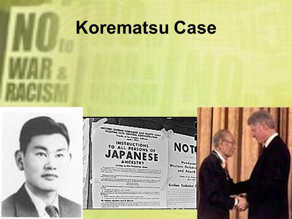 Korematsu Case