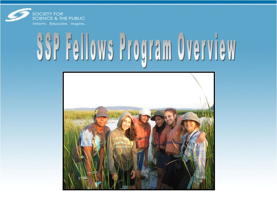 SSP is proud to name the first group of Fellows and to offer resources and training to communities where independent, inquiry-based research can be out of reach.