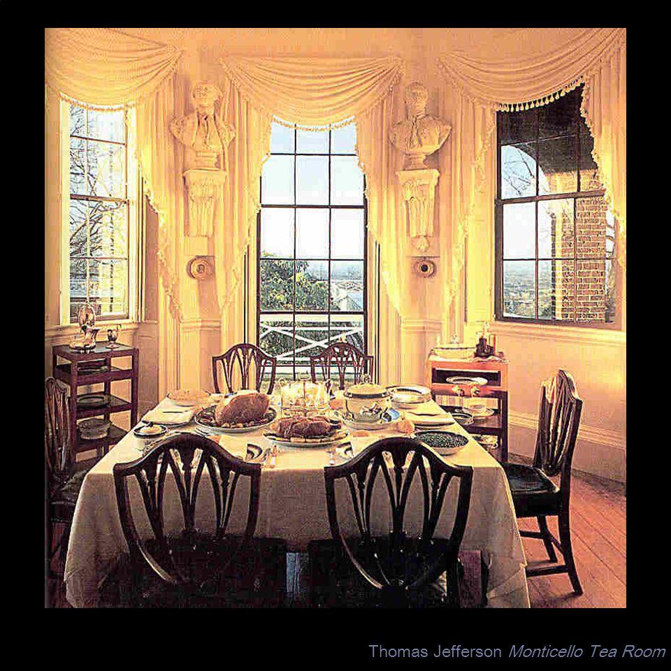 Thomas Jefferson Monticello Tea Room
