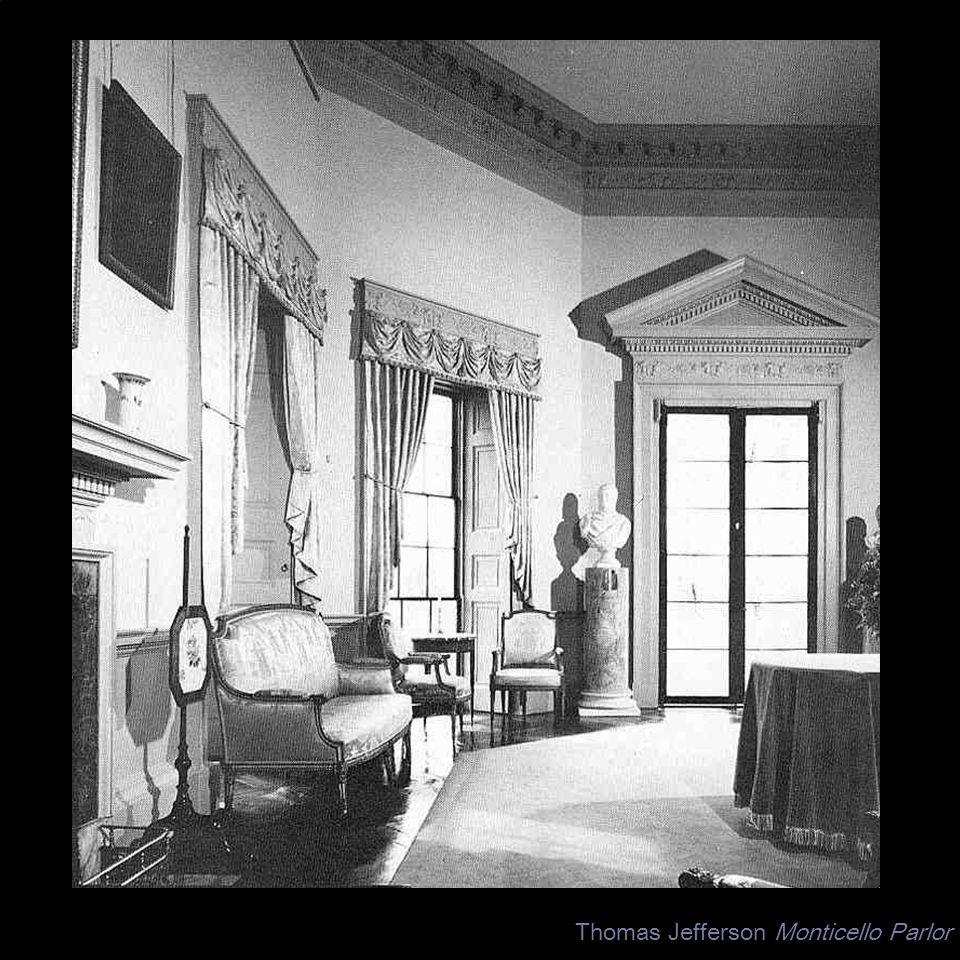 Thomas Jefferson Monticello Parlor
