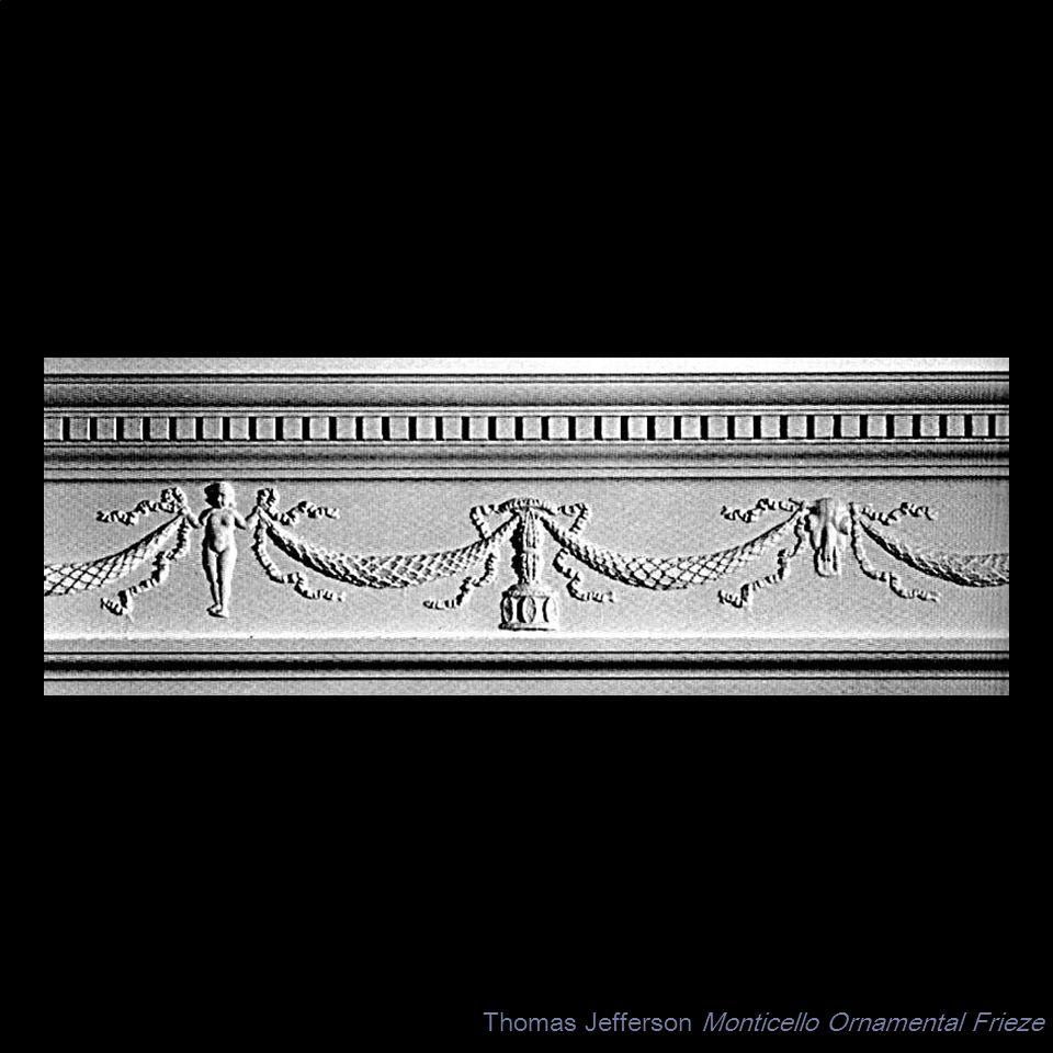 Thomas Jefferson Monticello Ornamental Frieze