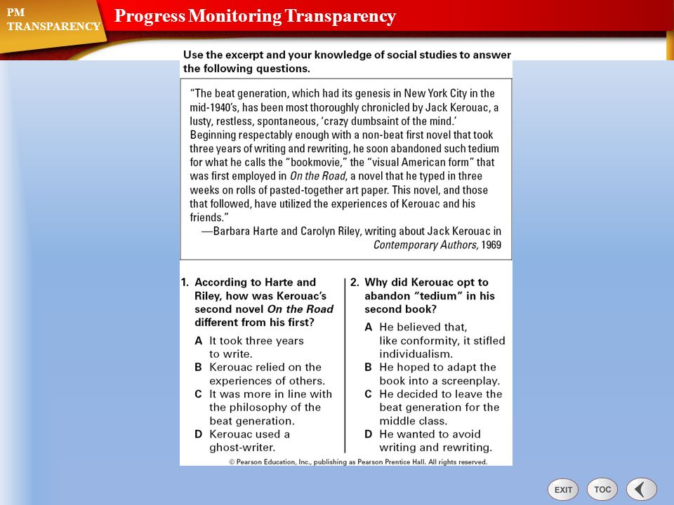 Native American Relocation TRANSPARENCY