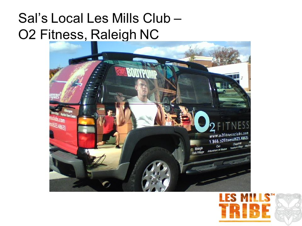 Sals Local Les Mills Club – O2 Fitness, Raleigh NC