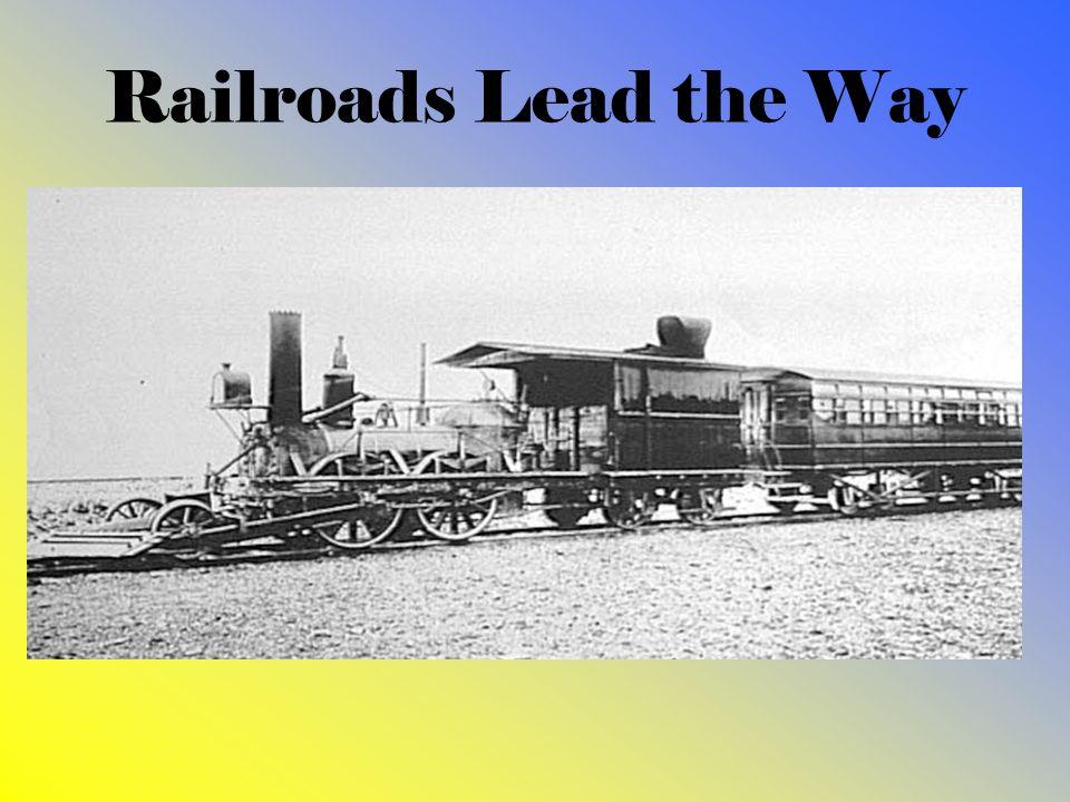 Railroads Lead the Way