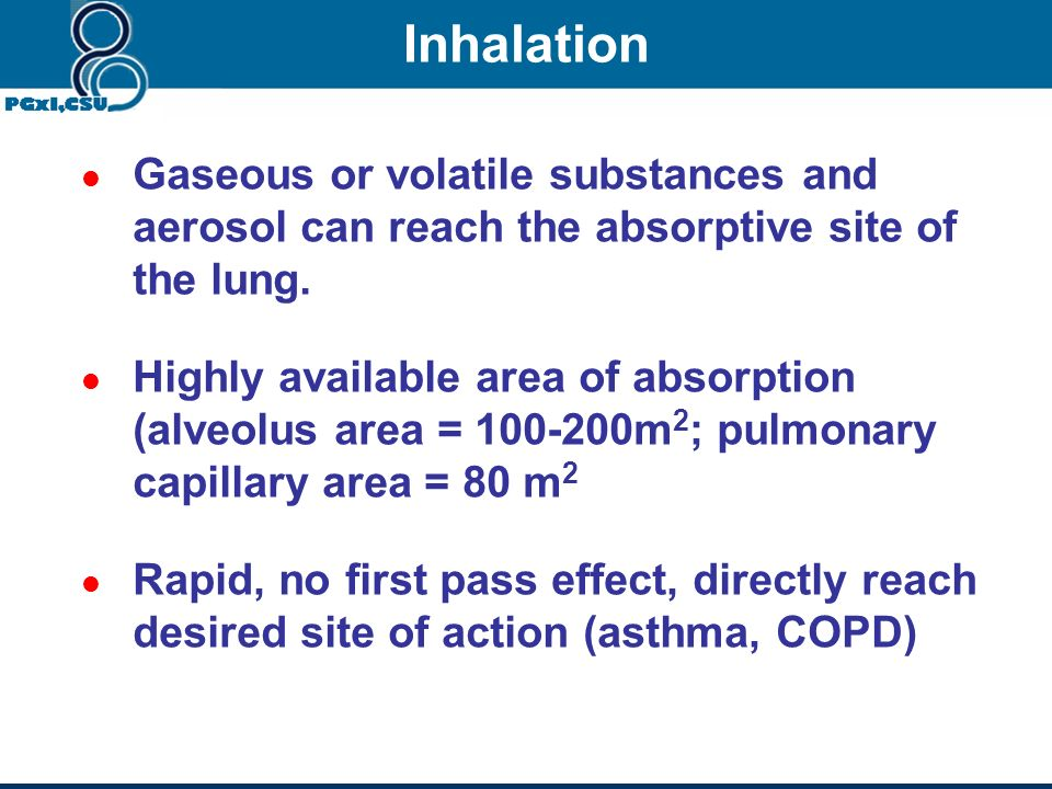 Passive diffusion Filtration Rapid and complete absorption Intramuscular & subcutaneous injection