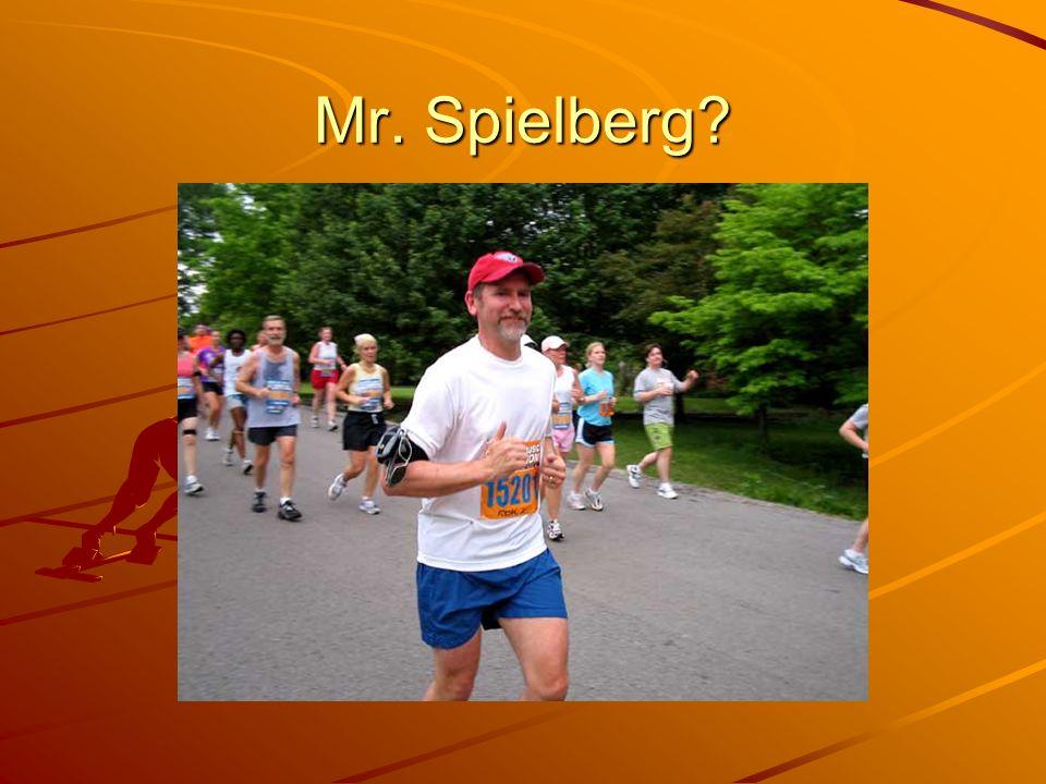 Mr. Spielberg