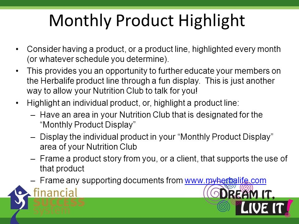 Consider having a product, or a product line, highlighted every month (or whatever schedule you determine). This provides you an opportunity to furthe