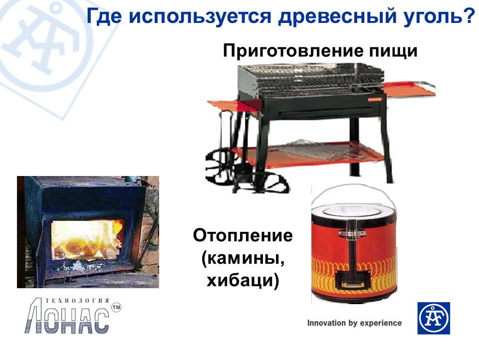 Где используется древесный уголь? Приготовление пищи Отопление (камины, хибаци)