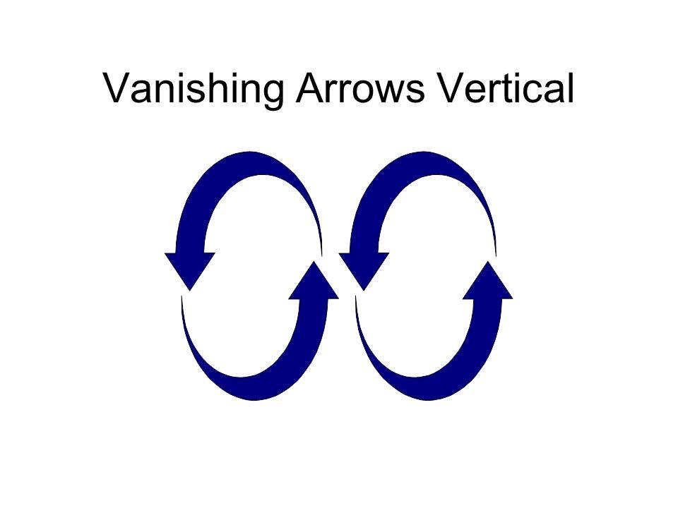 Vanishing Arrows Vertical