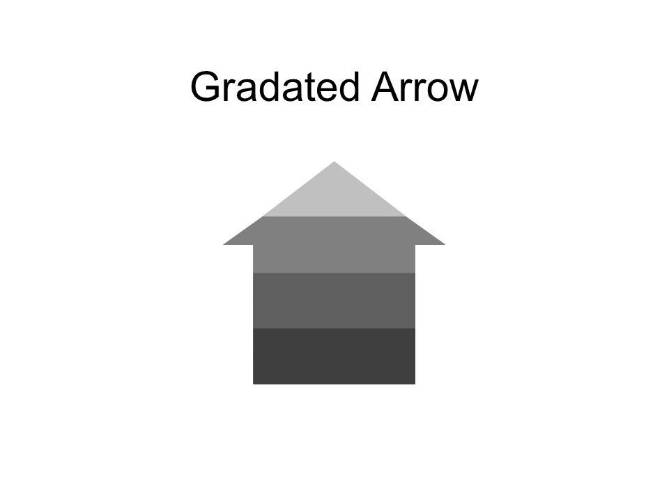 Gradated Arrow