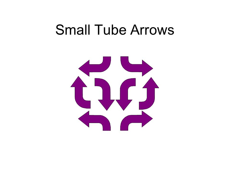 Small Tube Arrows