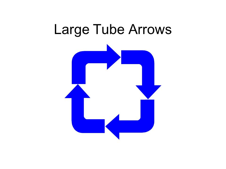 Large Tube Arrows