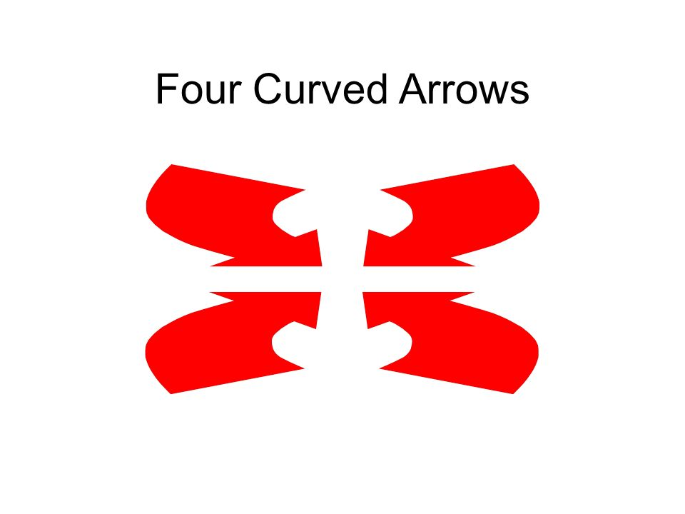 Four Curved Arrows