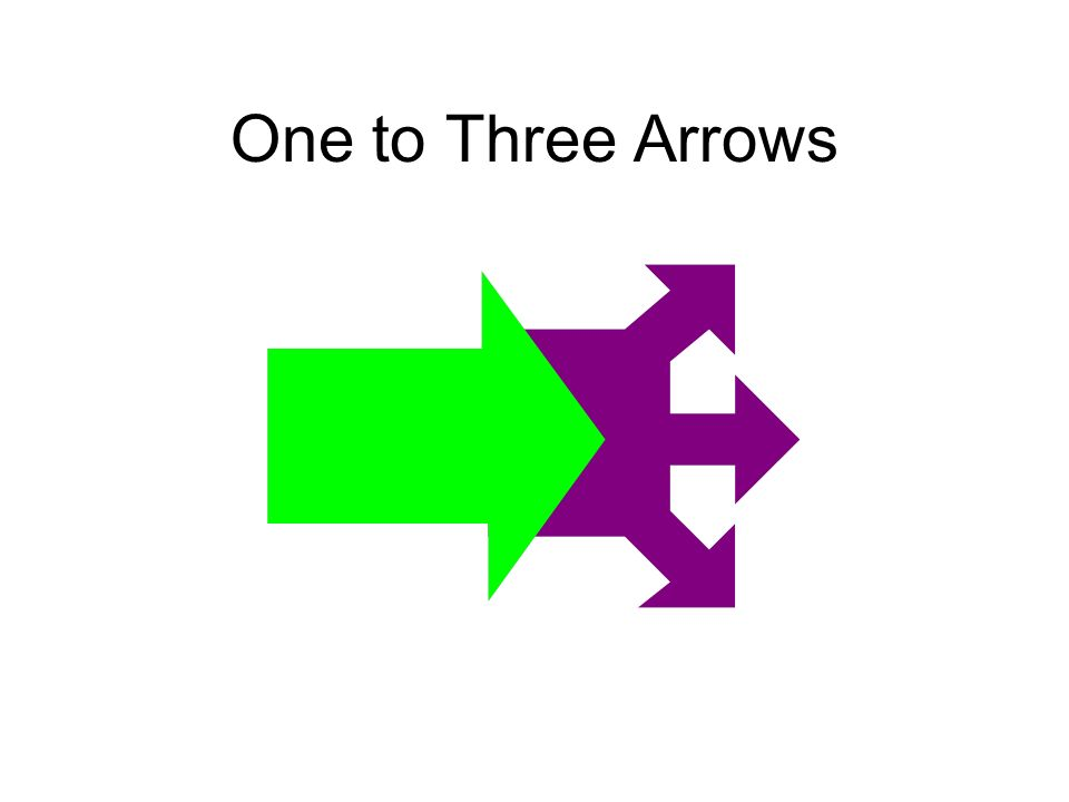 One to Three Arrows