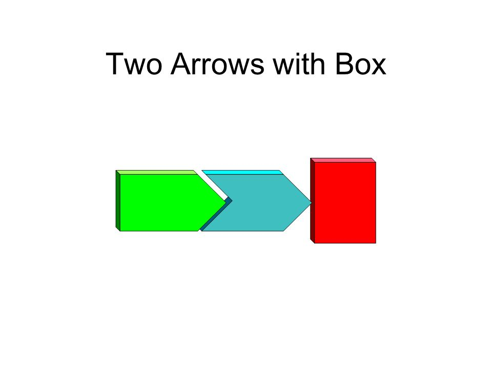 Two Arrows with Box