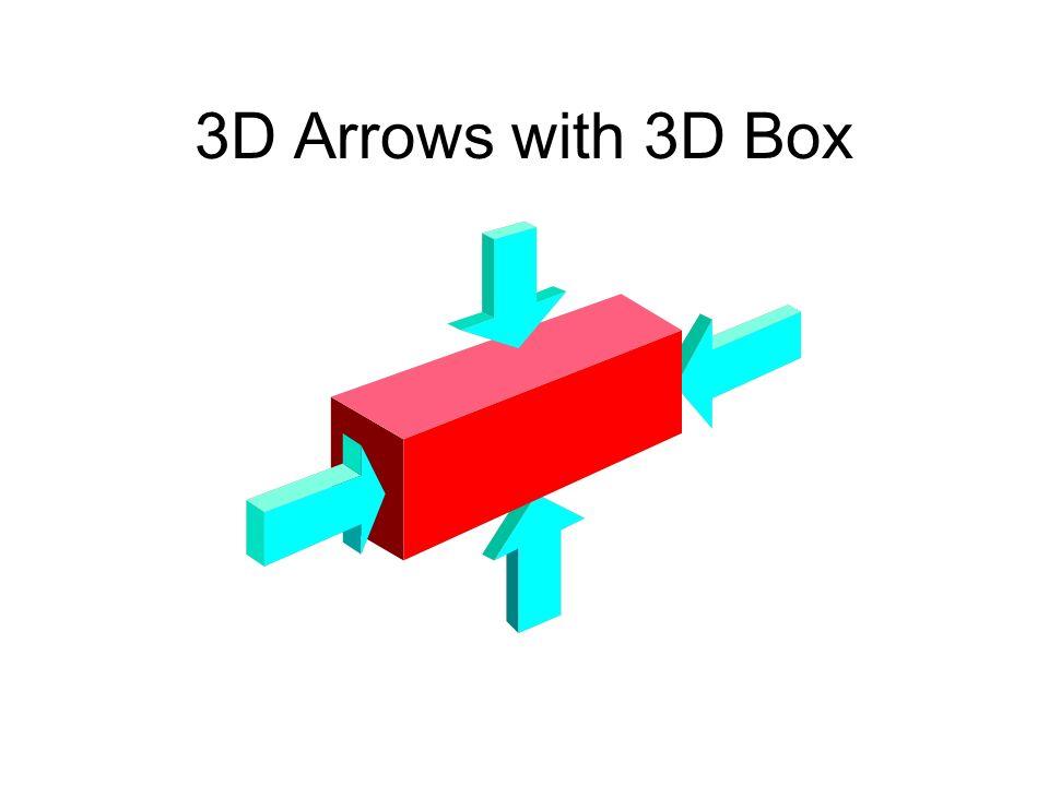 3D Arrows with 3D Box