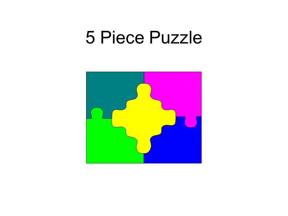 5 Piece Puzzle