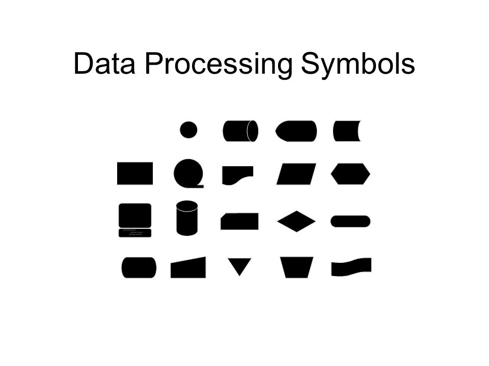 Data Processing Symbols