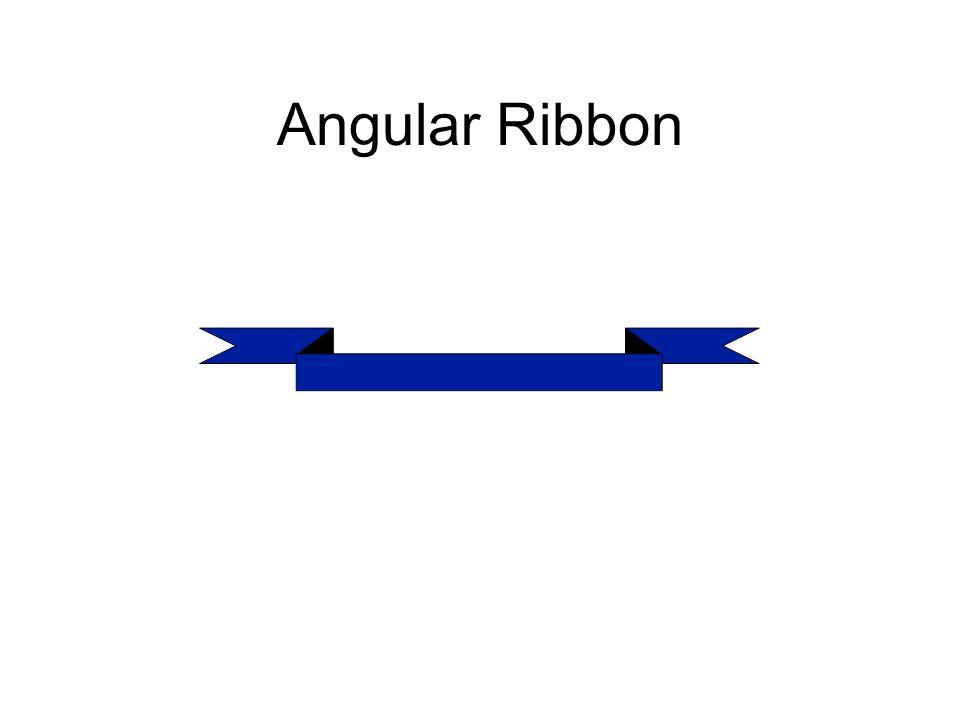 Angular Ribbon