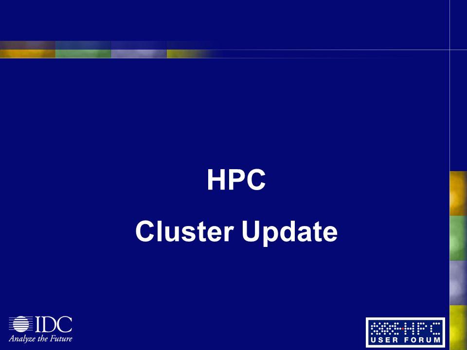 HPC Cluster Update
