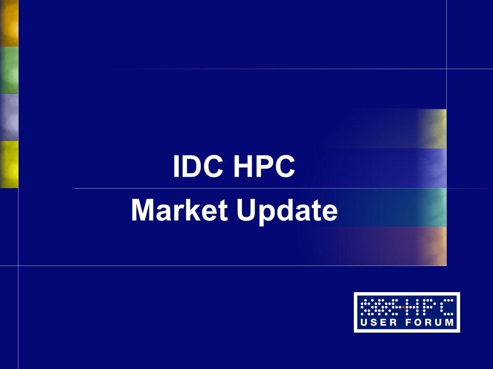 IDC HPC Market Update