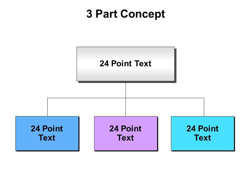 3 Part Concept 24 Point Text 24 Point Text 24 Point Text 24 Point Text 24 Point Text 24 Point Text 24 Point Text