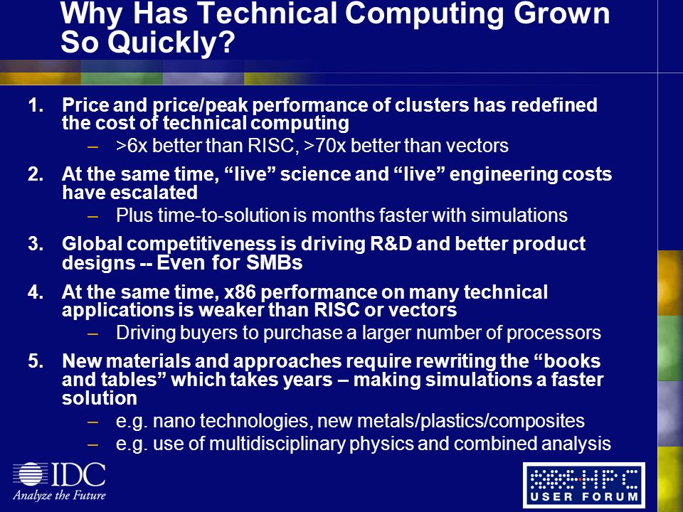 Why Has Technical Computing Grown So Quickly.