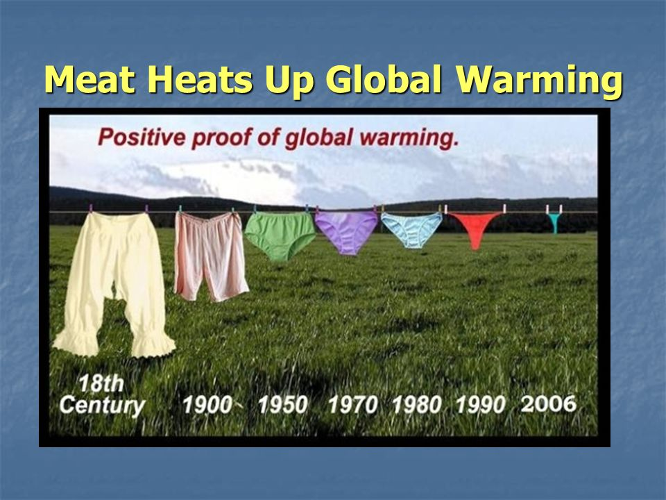 Meat Heats Up Global Warming