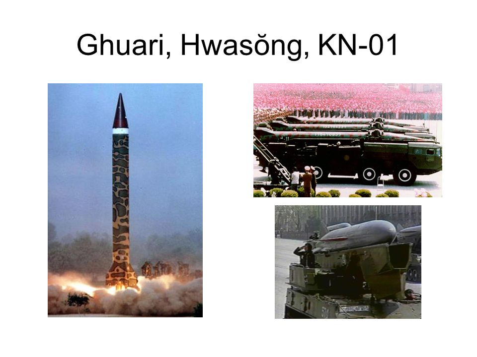 DPRK Missile Capabilities Flight-tested Paektusan-1 ( -1;Taepodong-1) with attempted satellite launch 31 August 1998 Missile exercise 5 July 2006, but Paektusan-2 failed Failed Ŭnha-2 ( -2) SLV launch 5 April 2009 Has tested and deployed improved anti-ship cruise missile KN-01 based on Chinese Silkworm Tested and probably deployed KN-02 or Toksa ( ) based on SS-21 Scarab