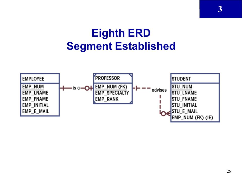 3 29 Eighth ERD Segment Established