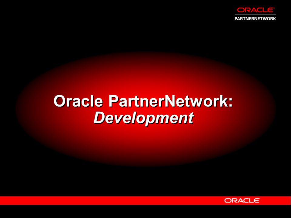 Oracle PartnerNetwork: Development