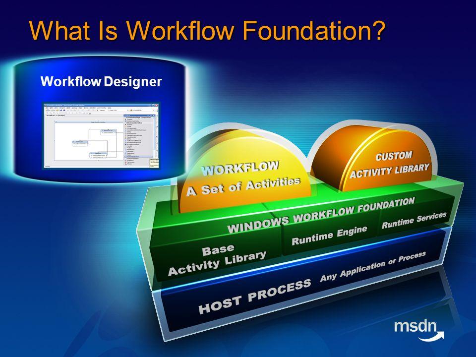 Host/Workflow Communication Scenario