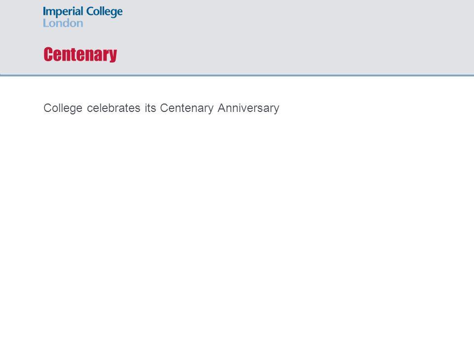 Centenary College celebrates its Centenary Anniversary