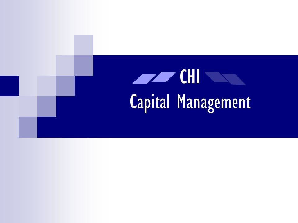 CHI Capital Management