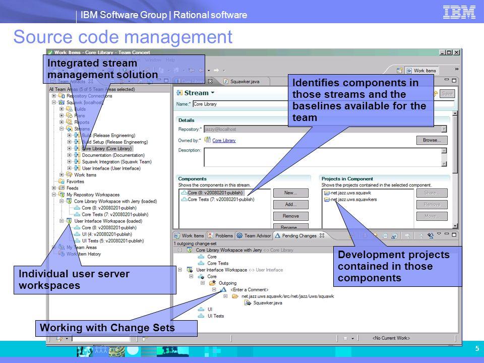 IBM Software Group   Rational software 16 © Copyright IBM Corporation 2008.