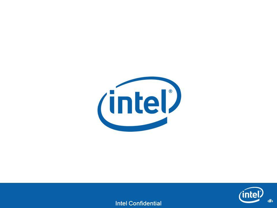 20 Intel Confidential 20
