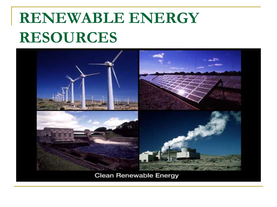BENEFITS OF RENEWABLE ENERGY Environment Reducing emissions of CO2 and other pollutants (acid rain, etc.) Local and regional development Economic and social cohesion Local job creation Security of supply Reducing Imports
