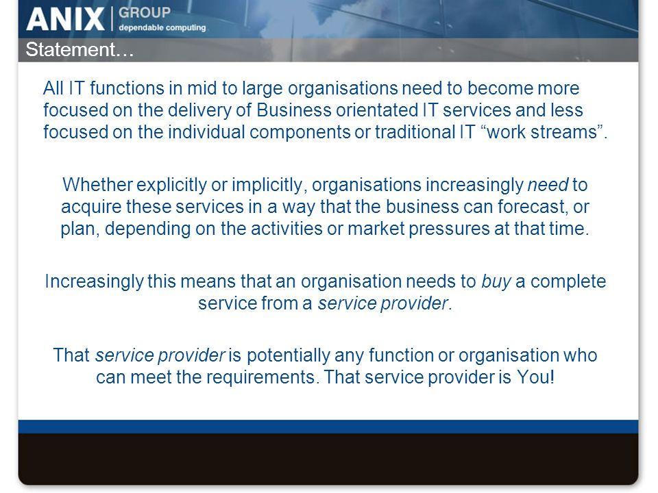 Service Provider Delivery Model £z £y £x £w £a £b £c £d £e £f £g