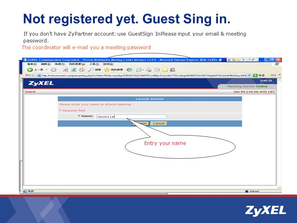 Not registered yet. Guest Sing in.