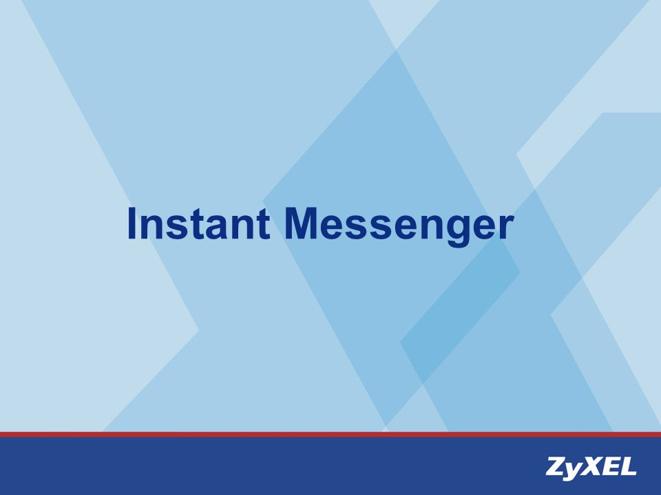 Setting Instant messenger Step1:Go to Start --> HomeMeeting --> Messenger -- > Start Messenger Step2: Add Office