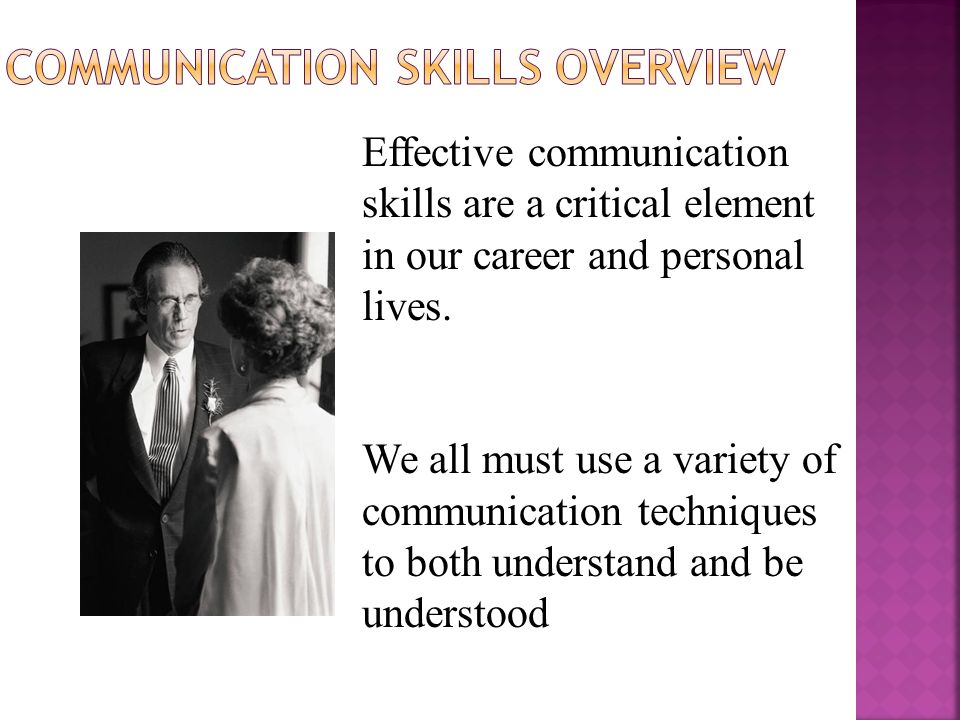 Effective communication important in the delivery of high-quality health care.