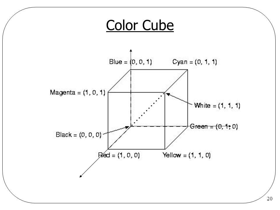 20 Color Cube