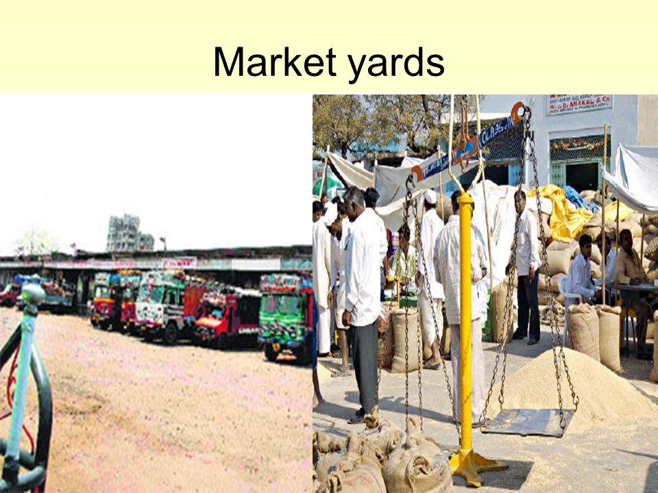 25 Market yards