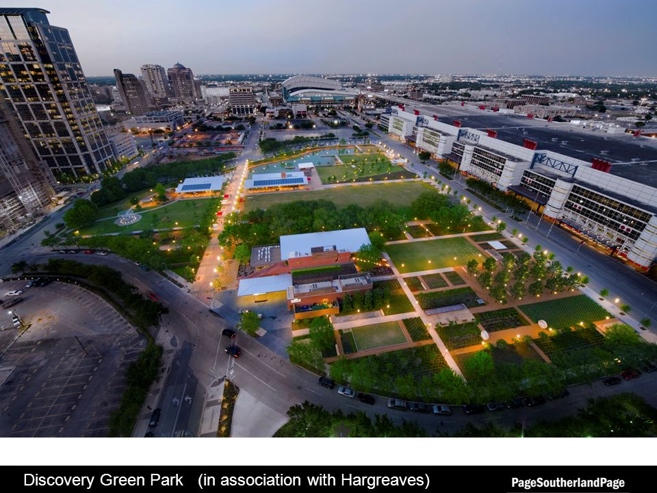 Discovery Green Park (in association with Hargreaves)
