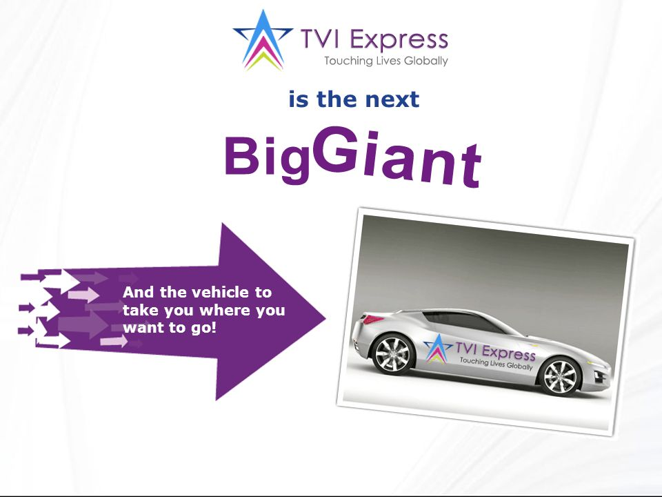 is the next And the vehicle to take you where you want to go!