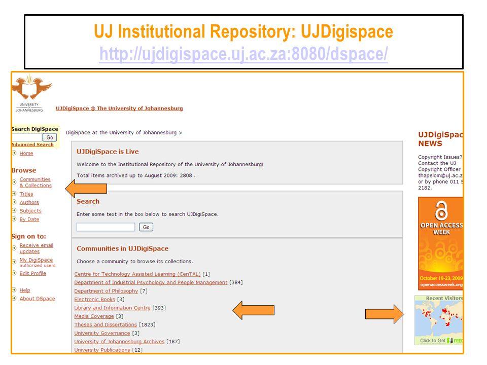 UJ Institutional Repository: UJDigispace http://ujdigispace.uj.ac.za:8080/dspace/ http://ujdigispace.uj.ac.za:8080/dspace/