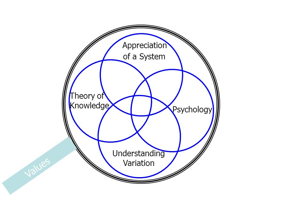 Appreciation of a System Understanding Variation Theory of Knowledge Psychology Values