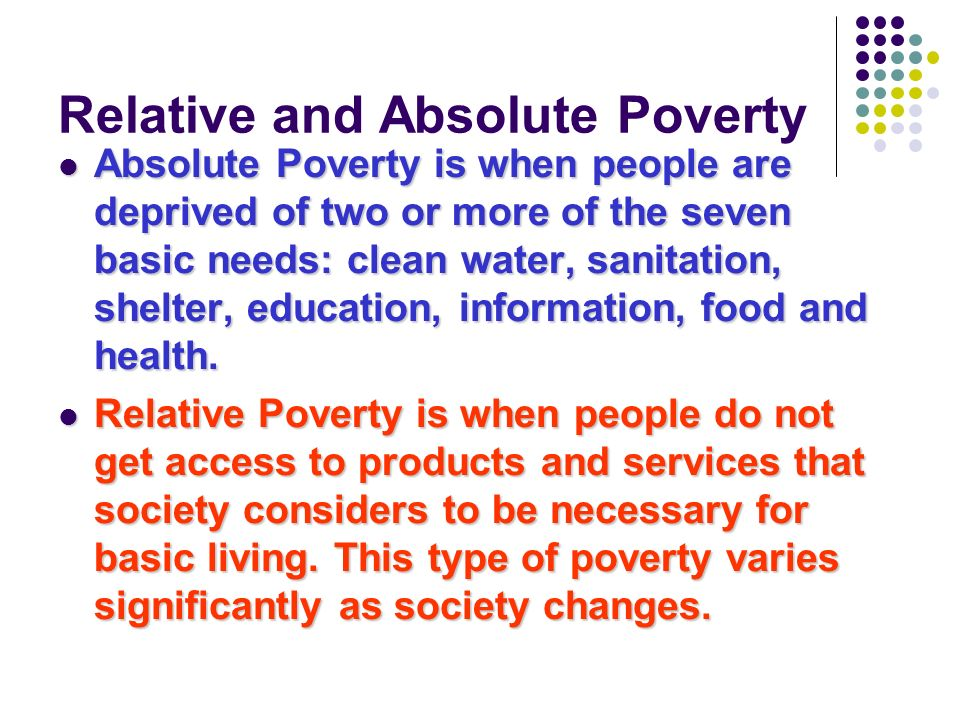 How do we measure poverty in the UK.1. Households Below Average Income (HBAI).