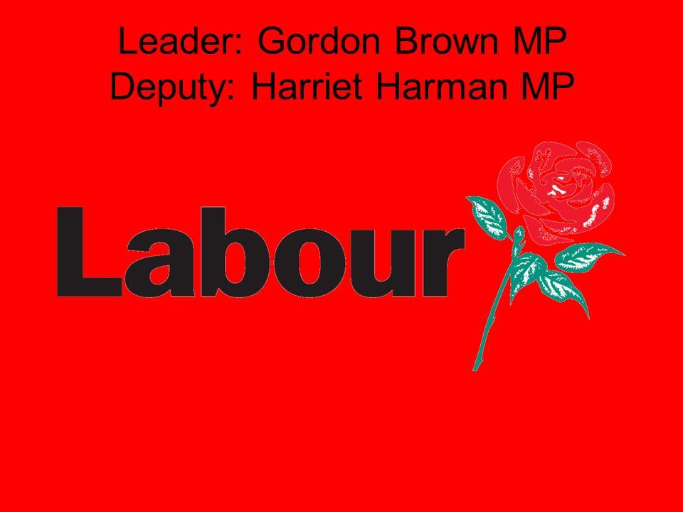 Leader: David Cameron MP