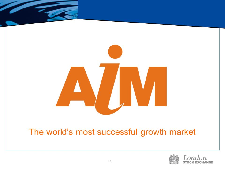 14 The worlds most successful growth market